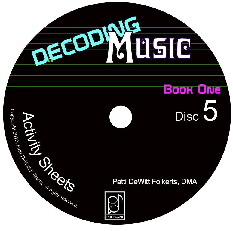 Decoding Music, Book I, Teacher's CD Rom