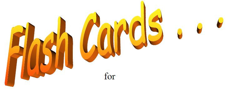 Level 1 Sightreading Flashcards Key of F