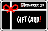 NEW! Imaan Designs Gift Cards!