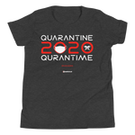 Quarantine = Quran Time - Bella + Canvas 3001Y Youth Short Sleeve Tee