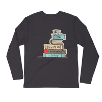 Fruit of Knowledge - Next Level Premium Adult Long Sleeve Fitted Crew