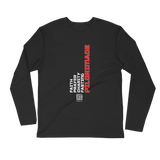 Pillars of Islam - Next Level Premium Adult Long Sleeve Fitted Crew