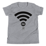 Hajj Wifi - Bella + Canvas 3001Y Youth Short Sleeve Tee