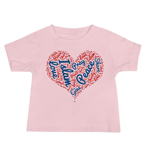 Love Islam - Bella + Canvas 3001YB Baby Jersey Short Sleeve Tee