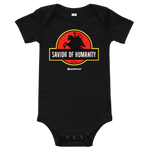 Savior of Humanity - Bella + Canvas 100B Baby Infant Short Sleeve One Piece
