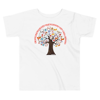 Roots of Knowledge - Bella + Canvas 3001T Toddler Short Sleeve Tee