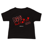 Big Hussaini Red - Bella + Canvas 3001YB Baby Jersey Short Sleeve Tee