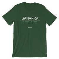 Holy Coordinates - Samarra - Bella + Canvas 3001 Adult Short-Sleeve Unisex T-Shirt