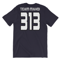 Team Mahdi Black - Bella + Canvas 3001 Adult Short-Sleeve Unisex T-Shirt