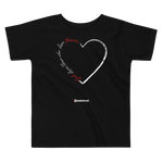 Love for Hussain - Bella + Canvas 3001T Toddler Short Sleeve Tee