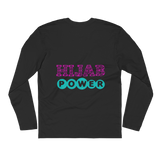 Hijab Power - Next Level Premium Adult Long Sleeve Fitted Crew
