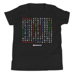 Karbala Word Search - Bella + Canvas 3001Y Youth Short Sleeve Tee