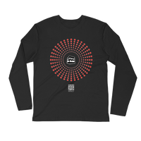 Humanity at Hajj - Next Level Premium Adult Long Sleeve Fitted Crew