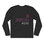 Be Different - Next Level Premium Adult Long Sleeve Fitted Crew