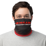 Every Breath - Black Red - Neck Gaiter