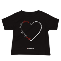 Love for Hussain - Bella + Canvas 3001YB Baby Jersey Short Sleeve Tee