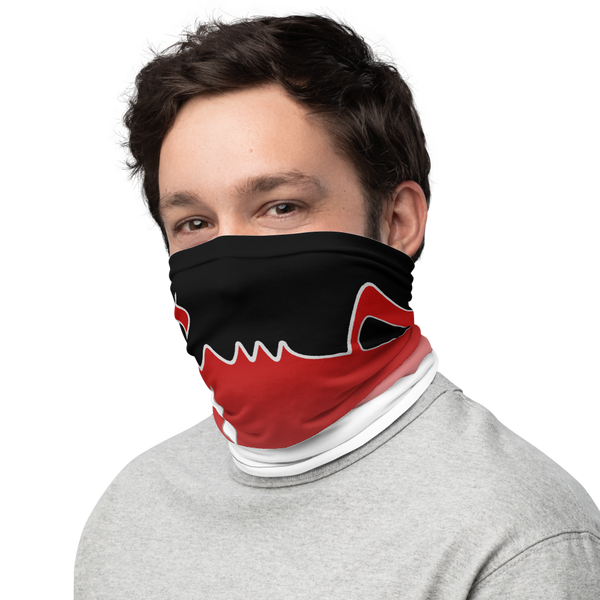 Hussain Wrap - Black Red - Neck Gaiter
