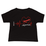 My Heart Beats Hussain - Bella + Canvas 3001YB Baby Jersey Short Sleeve Tee