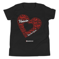 Love Hussain - Bella + Canvas 3001Y Youth Short Sleeve Tee