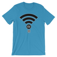 Hajj Wifi - Bella + Canvas 3001 Adult Short-Sleeve Unisex T-Shirt