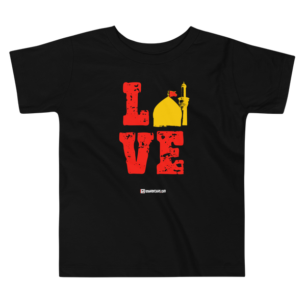 Karbala is Love - Bella + Canvas 3001T Toddler Short Sleeve Tee