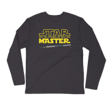 Star Sajjad - Next Level Premium Adult Long Sleeve Fitted Crew