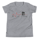Makkah Heartbeat - Bella + Canvas 3001Y Youth Short Sleeve Tee