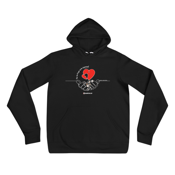 Prayer BLM - Unisex Pullover Hoodie | Bella + Canvas 3719