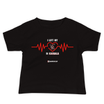 I Left my Heart in Karbala - Bella + Canvas 3001YB Baby Jersey Short Sleeve Tee