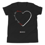 Love for Hussain - Bella + Canvas 3001Y Youth Short Sleeve Tee