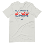 Quarantine = Quran Time - Bella + Canvas 3001 Adult Short-Sleeve Unisex T-Shirt