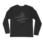 Muhammed Dome - Next Level Premium Adult Long Sleeve Fitted Crew
