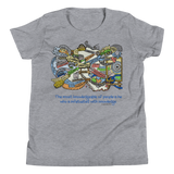 Knowledge Infatuation - Bella + Canvas 3001Y Youth Short Sleeve Tee