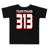 Team Mahdi Red - Bella + Canvas 3001T Toddler Short Sleeve Tee