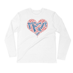 Love Islam - Next Level Premium Adult Long Sleeve Fitted Crew