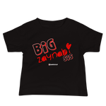 Big Zaynabi Red - Bella + Canvas 3001YB Baby Jersey Short Sleeve Tee