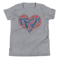 Love Islam - Bella + Canvas 3001Y Youth Short Sleeve Tee