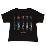 Karbala Word Search - Bella + Canvas 3001YB Baby Jersey Short Sleeve Tee