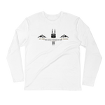 Safa Marwa - Next Level Premium Adult Long Sleeve Fitted Crew