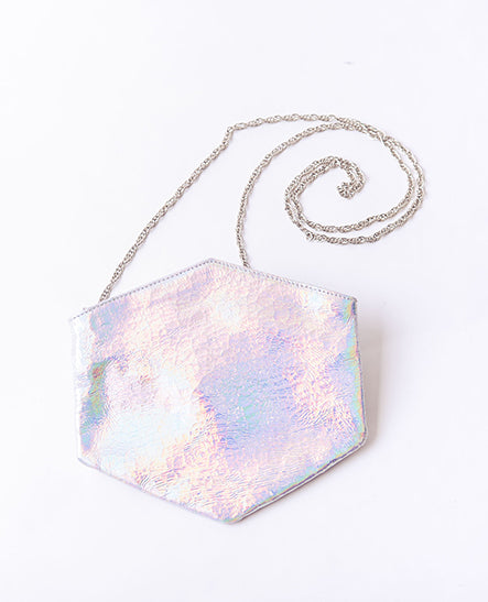 HOLOGRAPHIC CONVERTIBLE BELT BAG - Ruti Horn, #THEHEX COLLECTION