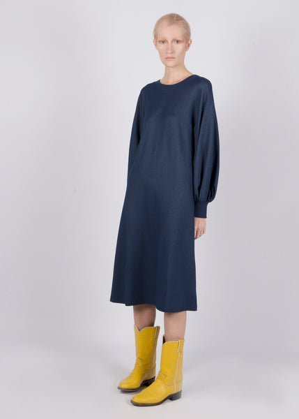 INDIGO GLOBO DRESS - Ruti Horn, Apparel