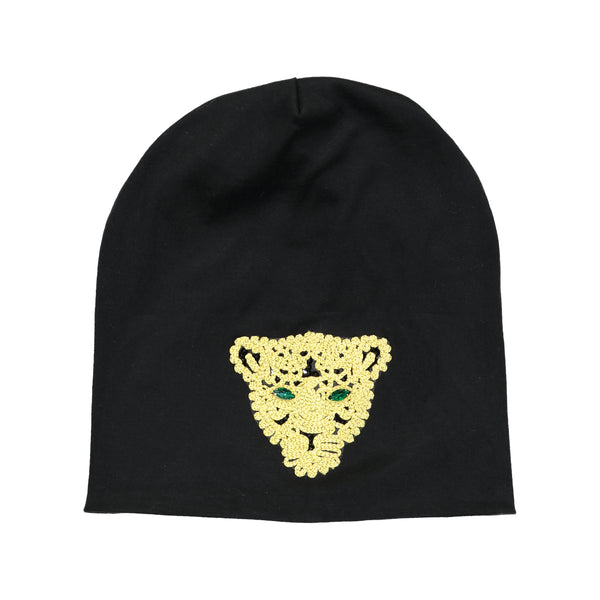 SIGNATURE LION BEANIE - Ruti Horn, HAIR ACCESSORIES