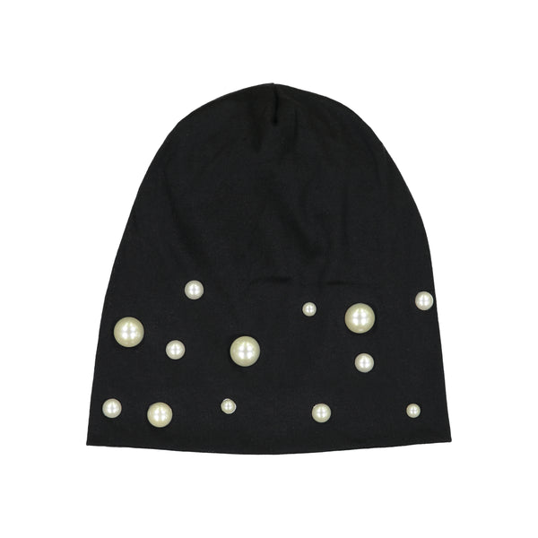 SIGNATURE PEARL BEANIE - Ruti Horn, HAIR ACCESSORIES
