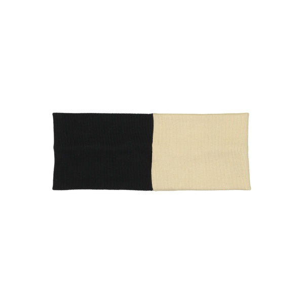 SWEATER RIBBED COLORBLOCK HEADWRAP - Ruti Horn, HAIR ACCESSORIES