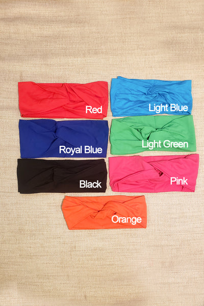 SOFT COTTON TURBAND - SOLID COLORS