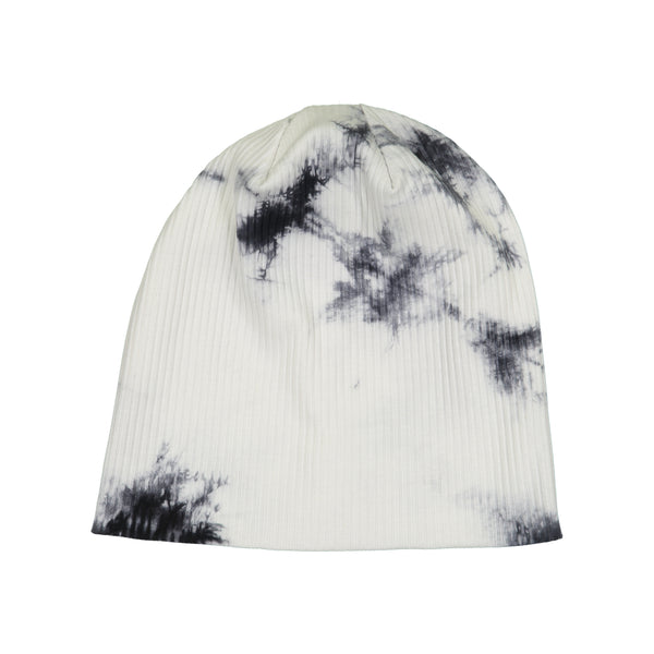 SIGNATURE THIN RIBBED TIE DYE BEANIE - Ruti Horn, HAIR ACCESSORIES