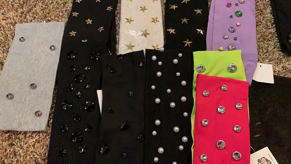 ASSORTED EMBELLISHED HEAD WRAPS