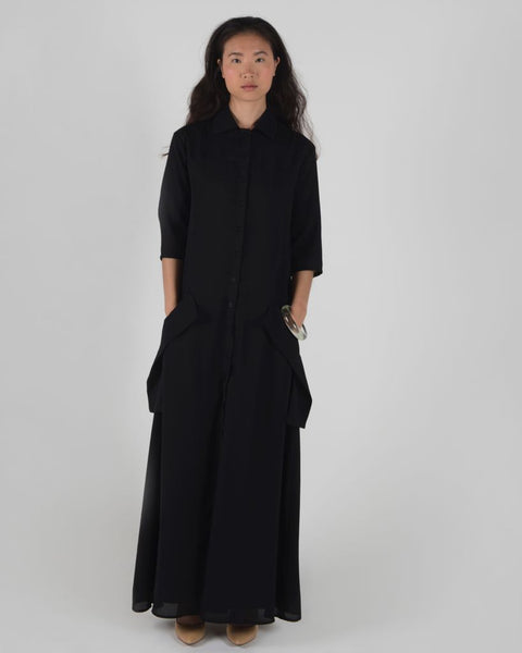Button Down Maxi - Ruti Horn, Apparel