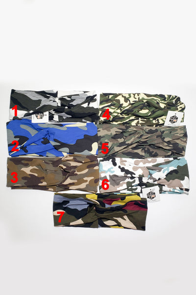 CAMOUFLAGE TURBANDS