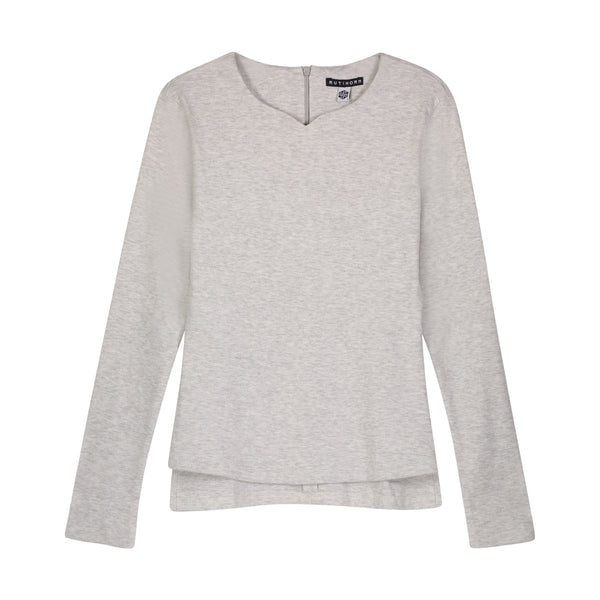 COSTA V T LIGHT GREY - Ruti Horn, Apparel